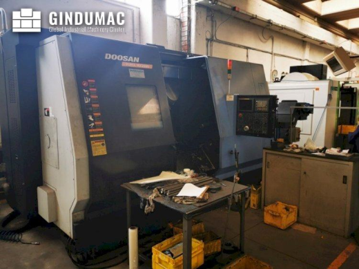 This Doosan Puma MX 2500  Multitasking Lathe was manufactured in the year 2007 in Korea.  It is oper