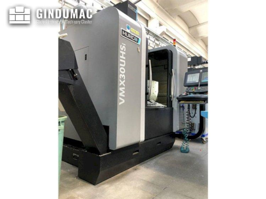 This Hurco VMX30 UHSi Vertical Machine Center was manufactured in the year 2014. This 5 axis machine