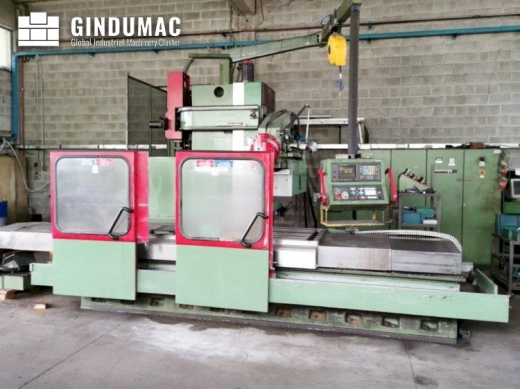 This NOVAR CENTER 1000K 40 Milling Machine was manufactured in the year 1991 in Italy. Operated thro