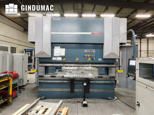 This Durma AD-S 30320 Bending Machine from Turkey was manufactured in the year 2012. It has a produc