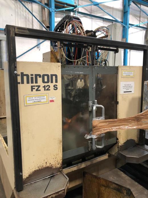 Manufacturer: CHIRON Model: FZ12S Location: HOSE [Ref: 34049]