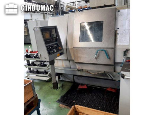 This Index G200 Lathe was manufactured in 2002 in Germany. It is equipped with a SIEMENS SINUMERIK c