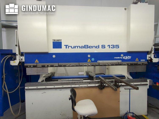 This Trumpf TrumaBend S135 Bending Machine was manufactured in Germany in the year 2005. It has a re