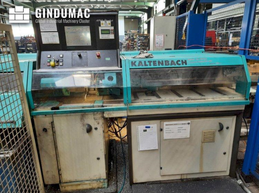 This KALTENBACH RKS 451 automatic straight cut circular saw was built in Germany in the year 2004. I