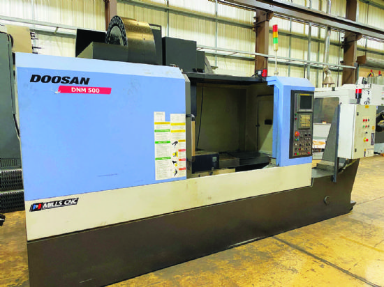 Traverses XYZ: 1020 x 510 x 520mm,  table 1200 x 540mm,  spindle speed 12,000rpm,  spindle taper