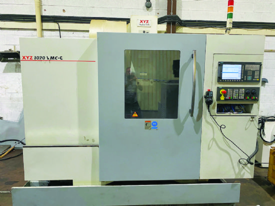Traverses X/Y/Z: 1,020 x 520 x 575mm,  table 1,120 x 500mm,  20hp spindle motor,  Siemens 828 wit