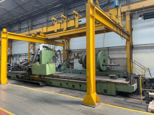 Used Ruaro Sciedum. CNC Crankshaft Grinder.YOM 1989/90 Can be inspected under power in users plant.