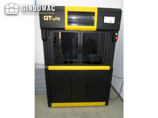 This Dynamical DTLITE 3D Printer was manufactured in the year 2019. It has been working less than 50