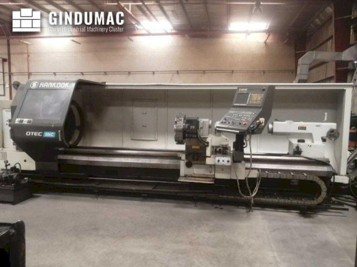 This HANKOOK PROTEC-9NC Lathe was made in Korea in the year 2012. It has a production history of 135