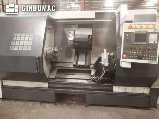 This YOU JI YH-36/135 Lathe was manufactured in Taiwan in 2012. It has been working for 15000 hours.