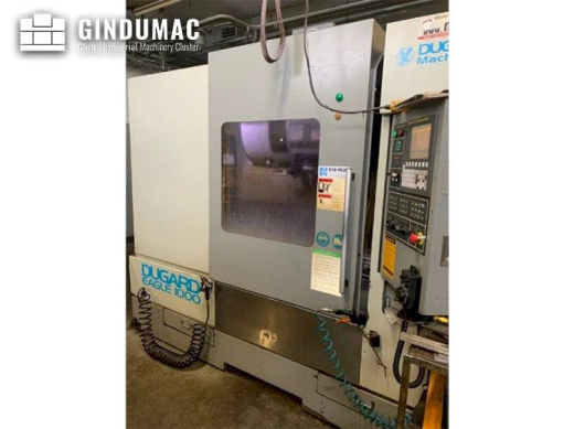 This Dugard Eagle 1000 Vertical Machining Center was built in 2010. This 3 axis machine is equipped