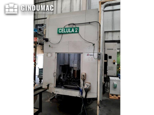 This Enshu EV-450 Vertical Machining Center was manufactured in the year 2004 in Japan. It is equipp