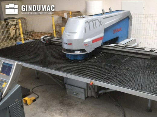This Euromac MTX FLEX 6 punching machine was manufactured in 2012 in Italy. It has a punching force