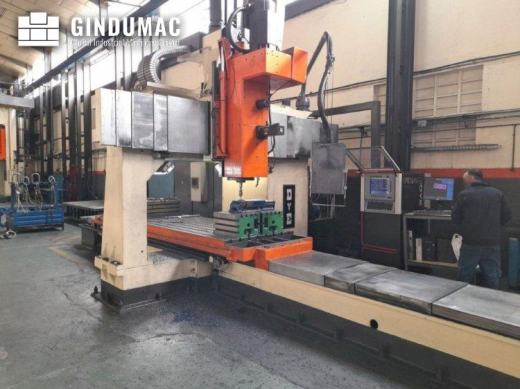 This DYE FBF-C-N/C Milling machine was made in 1986 and has been retrofitted in 1998. It operated th