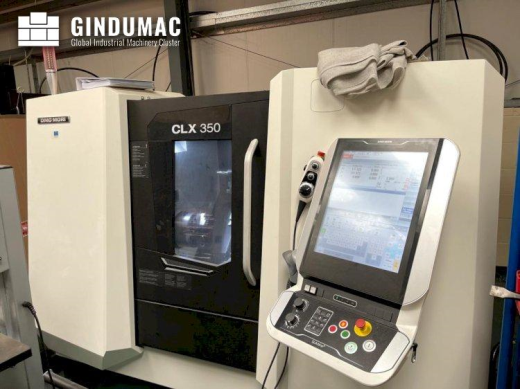 This DMG MORI CLX 350 Lathe was built in Poland in the year 2018. This 2 axis machine has been worki