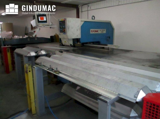 This Euromac CX 750/30 CNC Punching Machine was built in Italy in the year 1997. This machine works