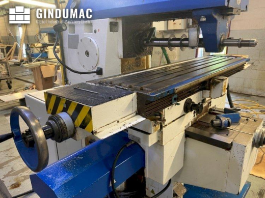 This TOS Olomouc FGU 32 Milling was made in Czech Republic in the year 2010. This 3 axis machine can