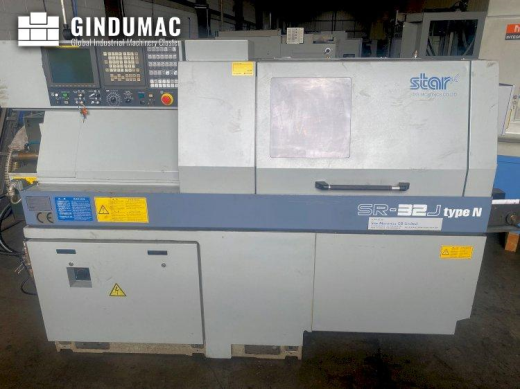 This Star SR-32J type N Lathe was manufactured in Japan in the year 2011. It has been running for 22