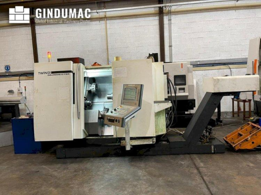 This DMG GILDEMEISTER TWIN 42 Rg1 Lathe was built in Germany in 2012. It has been working for 66518
