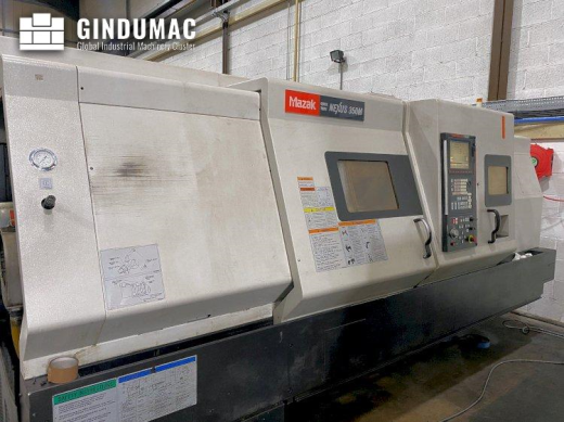 This Mazak QUICK TURN NEXUS 350M Lathe was built in the United Kingdom in the year 2006. This 3 axis