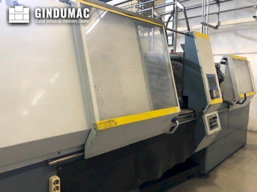 This Battenfeld BA 1300/630 CDC Injection moulding machine was built in Austria in 1997. It has a wo