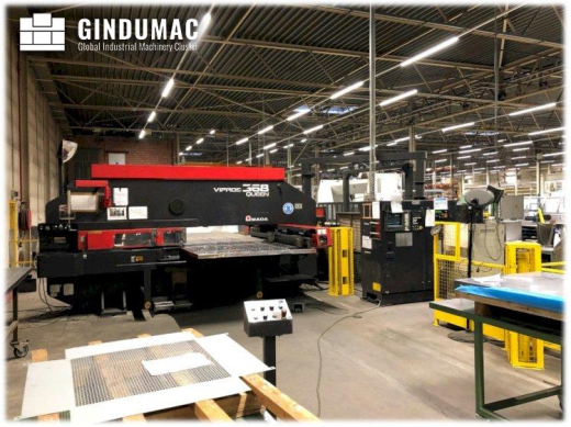 This AMADA Vipros 368 Queen Punching Machine was built in the year 1998 in Japan. It has been workin