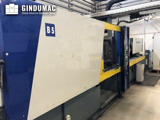 This Battenfeld BC-T 1800 /1000 Injection moulding machine was manufactured in Germany in 1994. It h