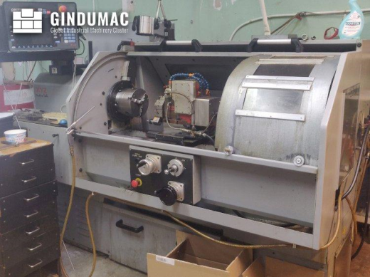 This XYZ VL355 Lathe machine was manufactured in the year 2005. It is equipped with a PROTO TRAK VL