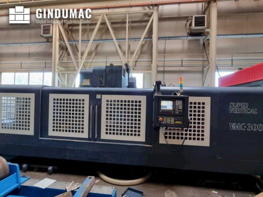 This Johnford VMC-3000S Vertical Machining Center was built in the year 2009. This 3 axis machine is