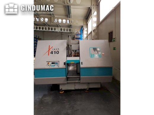 This Imet X-TECH 410 Sawing Machine was built in 2011 in Italy. It is equipped with a control unit o
