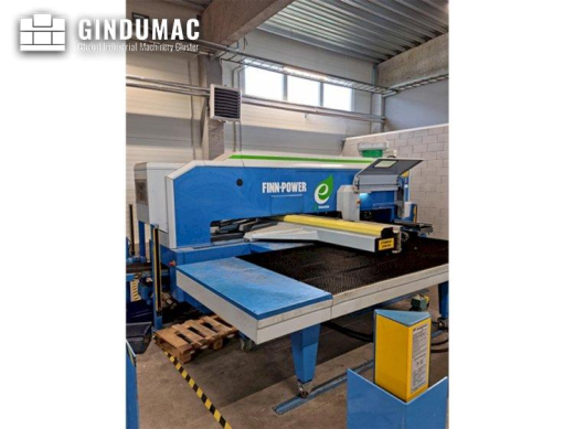 This Finn-Power E5 Punching Machine was manufactured in the year 2007. It has been working for appro