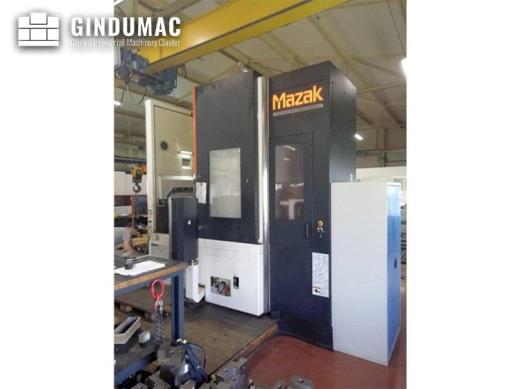 This Mazak MEGATURN NEXUS 900 Lathe was built in the year 2014. This 2 axis machine has  31814 worki