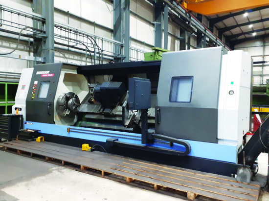 Max turning dia 900mm.  Max turning length 3,200mm.  X-axis 470mm.  Z-axis 3,235mm.  C-axis.  X