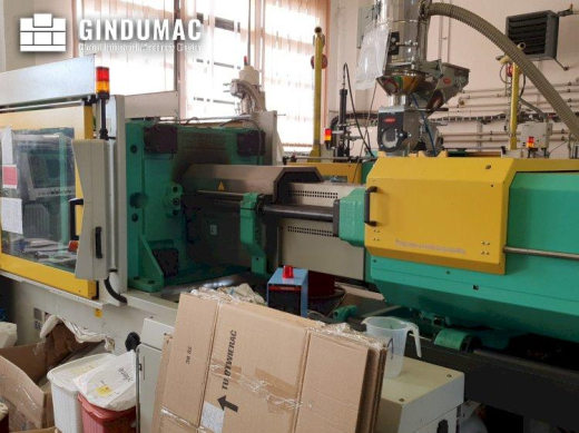 This Arburg 570C 2200 - 1300 Injection moulding machine was made in Germany in 2006. It has been wor