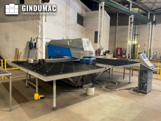 This Euromac Mbx6 Plus Punching machine was built in Italy in 2017. It has been on for 3182 hours, o