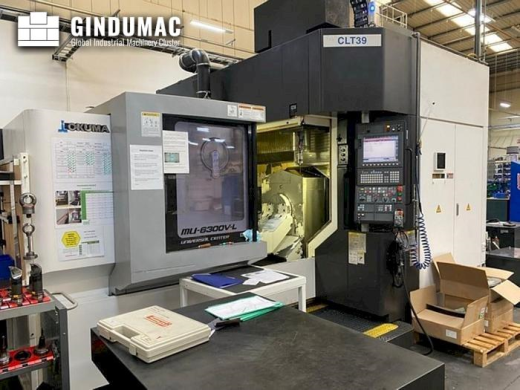 This Okuma MU 6300V-L Vertical Machining center was manufactured in the year 2015. It is equipped wi