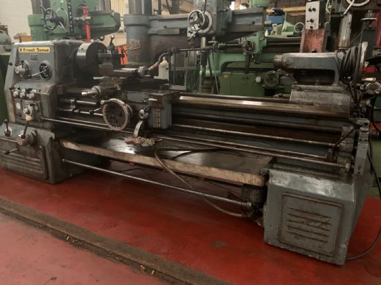 Reference: TOU144 ModelHN 500 Ø over the bed (mm)500 Spindle bore (mm)55 Distance between-ce