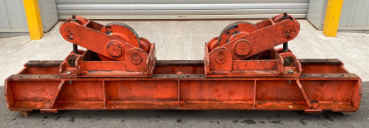 Used Bode 30 Ton Steel Wheel Idler with Jack Up facility to assist with line up of vessels
