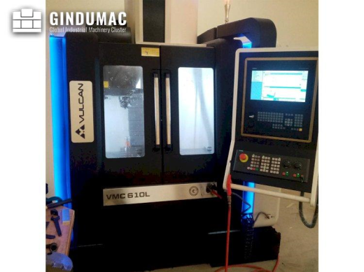 This VULCAN VMC 610L Vertical machining center was manufactured in the United Kingdom in 2020. It is