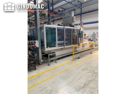 This Krauss Maffei 650-2700-520 CL Injection moulding machine was built in Germany in 2005. It can w