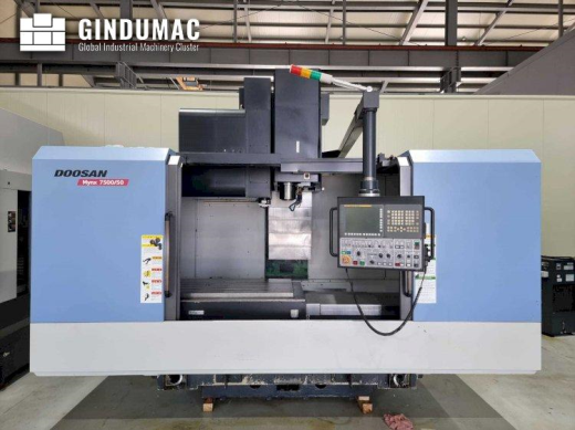 This Doosan Mynx 7500/50 Vertical machining center was built in South Korea in 2012. It is equipped