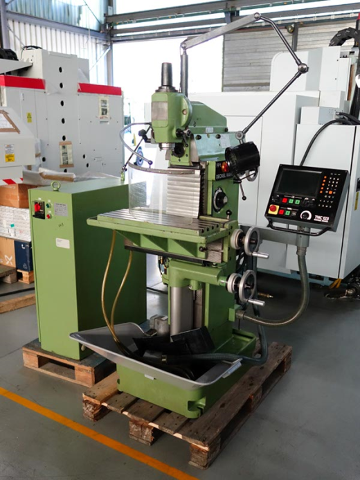 Deckel Type Fp1 Manual Milling Machine For Sale