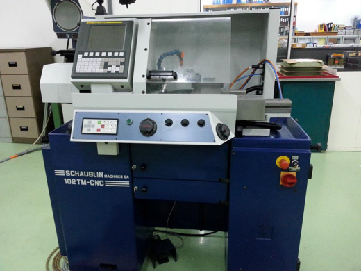 Schaublin 102 Tm Cnc Lathe For Sale Machinery Locator Com