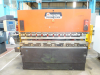 80 ton x 2500mm Hydraulic Upstroke 2 Axis CNC Press Brake, Cybelec DNC60 Control