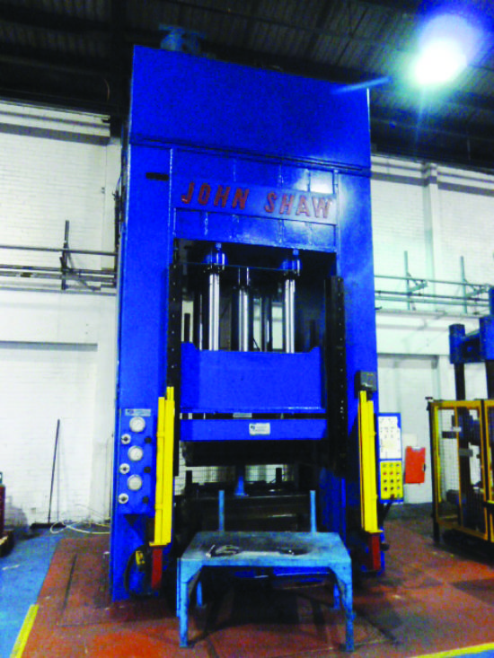 JOHN SHAW 400 Ton Double Action Press  for sale : Machinery
