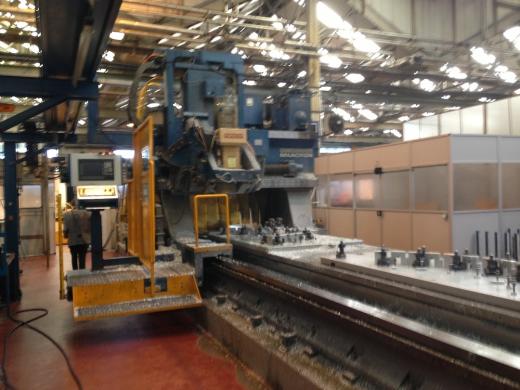Cincinnati 30v 5 Axis Cnc Profiling Gantry Mill For Sale