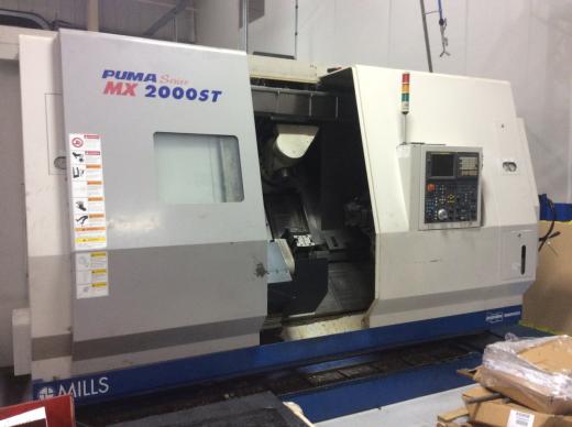 Doosan Puma MX 2000 ST 9 Axis CNC Lathe For Sale Machinery Locator