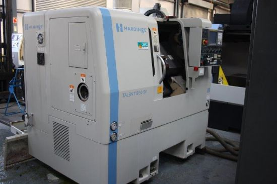 Hardinge Talent 8 52 Cnc Lathe For Sale Machinery
