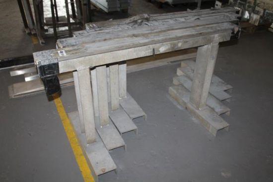 4No. METAL TRESTLES for sale : Machinery-Locator.com