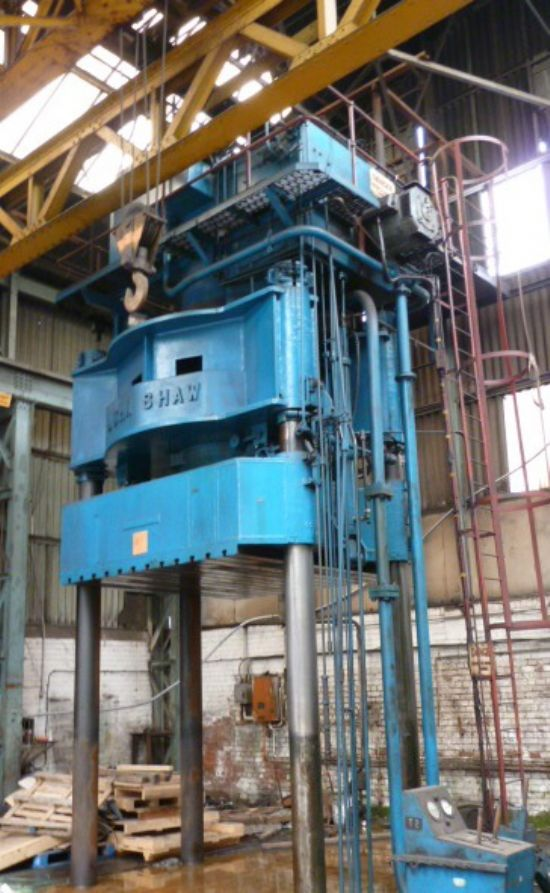 JOHN SHAW 1000 Ton 4 Post Hydraulic Press for sale